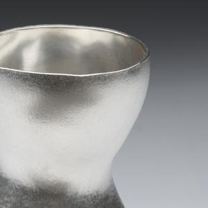 Posy Vase  Textured Britannia Silver  110 x 80 x 40mm appox   £660