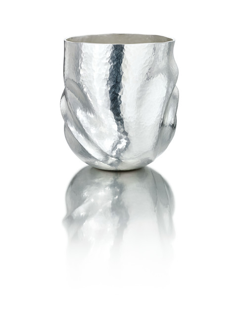 Olivia Beaker, Britannia silver, 2020