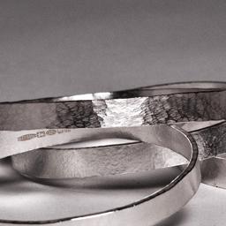 Textured Bracelets Sterling Silver 2011 £75-95